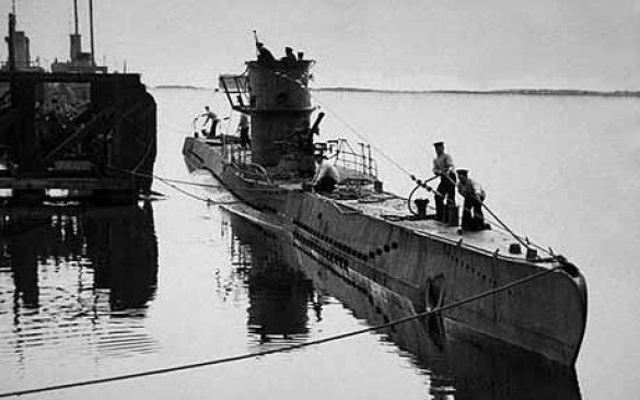 Німецька субмарина