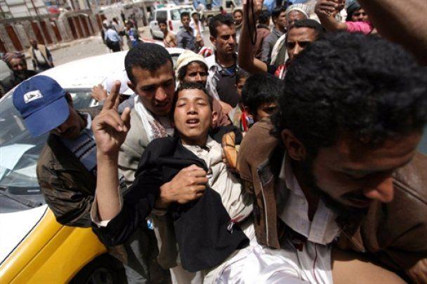 Поліція Ємену розстріляла демонстрацію проти президента