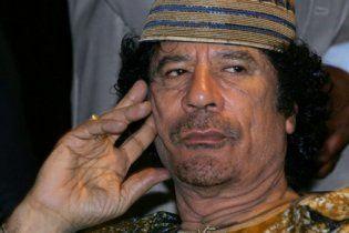 Під час промови Каддафі про переговори НАТО бомбило телецентр