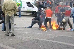 В Амстердаме мужчина совершил попытку самосожжения