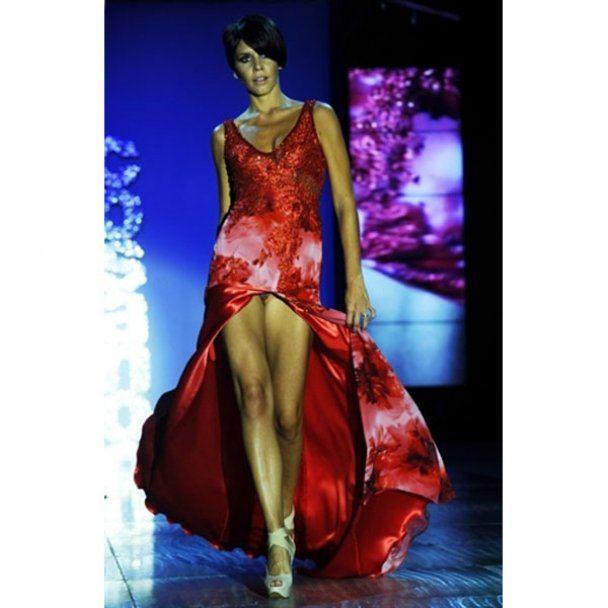 Модели в белье на аргентинской неделе моды