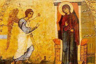 Православні та греко-католики відзначають Благовіщення