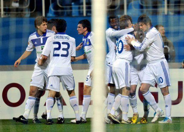"""Динамо"" Киев 1:1 ""Спортинг"" Брага. Фотоотчет"