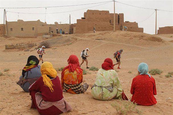 Найскладніший у світі Піщаний марафон у Сахарі