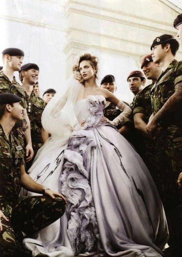 Свадебный переполох в британском Vogue