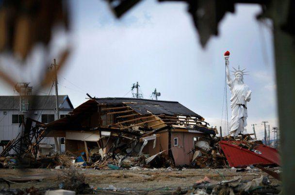 Землетрясение в Японии вызвало десятилетие катастроф
