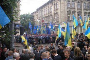 Пікет візиту Януковича до Львова переріс у бійку з правоохоронцями