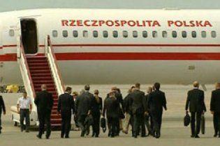 Делегація Польщі не ризикнула летіти до Смоленська