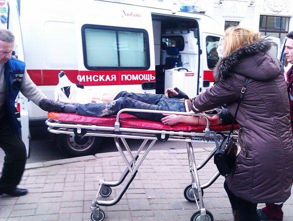 Вибух в Мінську
