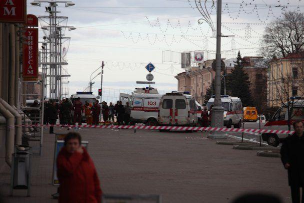 Взрыв в минском метро официально признан терактом