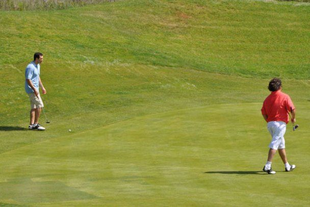 Володимир Кличко зіграв у гольф за 60 тисяч євро