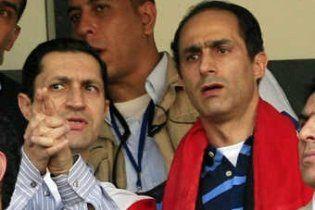 В Египте задержаны двое сыновей Мубарака