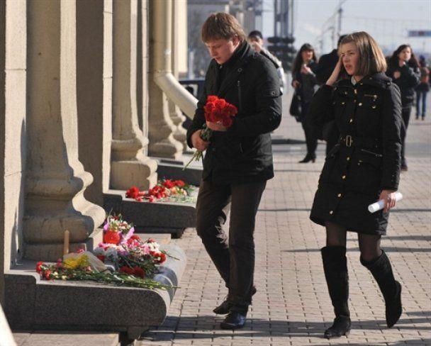 В Минске - День траура по жертвам теракта в метро