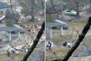 Жертв цунами в Японии от спасения отделяли две минуты