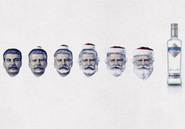 Українці розробили для чеської горілки рекламу зі Сталіним і Гітлером