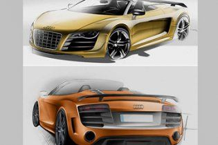 Audi опублікувала малюнки відразу двох нових моделей