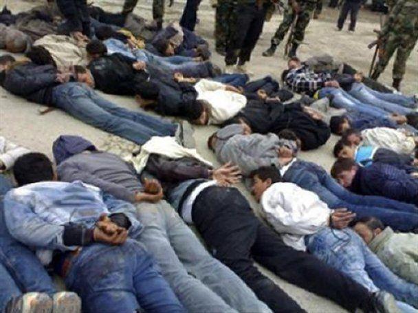 Сирійська поліція розстріляла півсотні демонстрантів