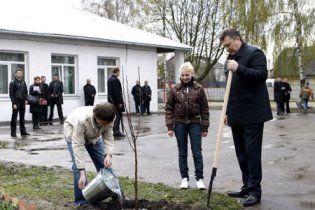 """Янукович поедет на """"малую родину"""" сажать деревья"""