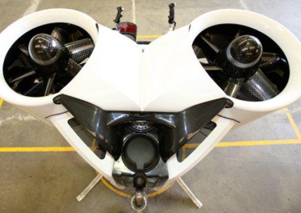 У США створили ранець, який дозволяє людині півгодини літати у повітрі