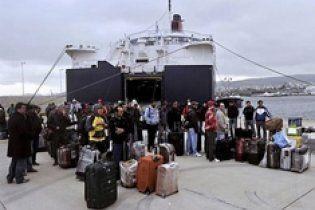 Українці зможуть втекти з Лівії на судні Червоного хреста