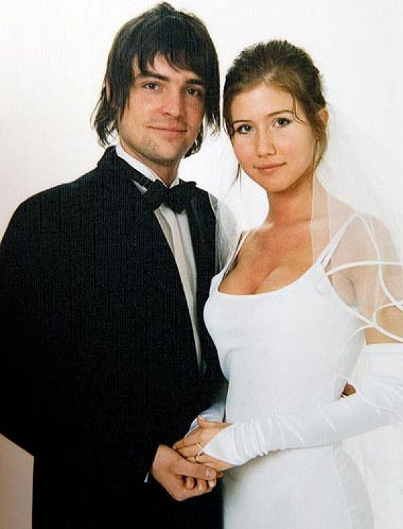 Анна Чапман з чоловіком Алексом