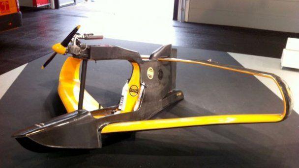 Створений дешевий одномісний 70-кілограмовий літак