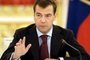 Медведев поздравил США с уничтожением бен Ладена