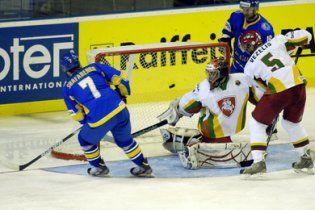 Украина выиграла первую игру на чемпионате мира по хоккею