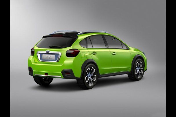 Subaru презентувала новий концептуальний кросовер XV