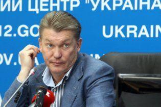 Блохін: у нас немає гравців, щоб елементарно заявитися на Євро-2012