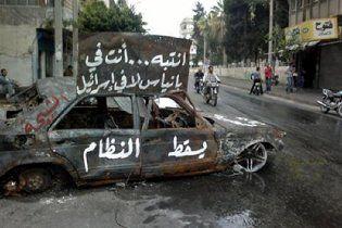 У Сирії повстання придушують танками: десятки загиблих