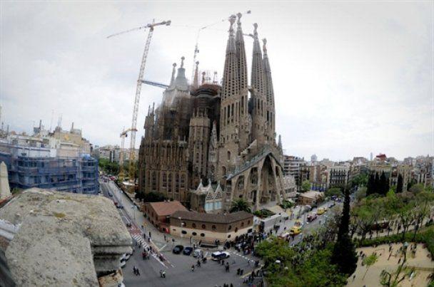 Знаменитий собор Гауді в Барселоні намагалися спалити