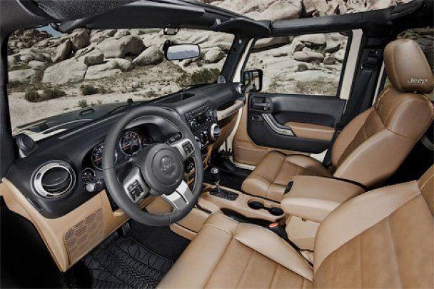 Розкішна спецверсія позашляховика Jeep присвячена пустелі Мохаве