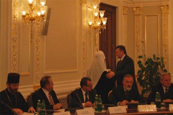 Зустріч Януковича з керівникам провідних Церков_2