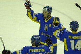 Україна здобула третю перемогу на чемпіонаті світу з хокею