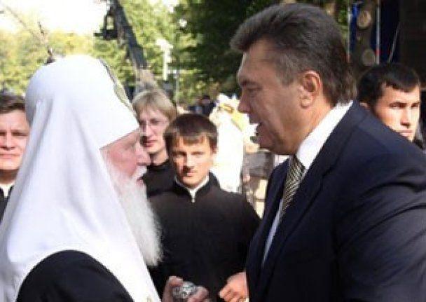 Янукович обсудил с Филаретом проблемы Киевского патриархата