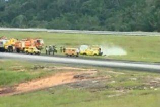 В Бразилии при взлете упал самолет, не выжил никто