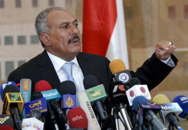 Президент Ємену став третьою жертвою арабських революцій