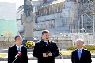 Янукович про Чорнобиль: ми заплатили за спокій планети тисячами життів