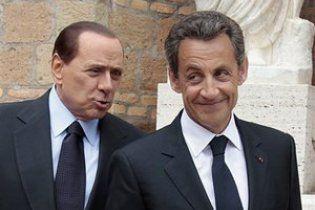 Саркози и Берлускони планируют реформировать Шенгенские соглашения