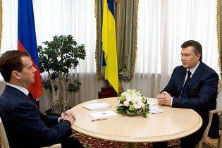 Янукович прибув до Сочі на зустріч з Мєдвєдєвим