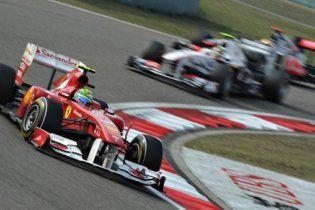 Україна транслюватиме Формулу-1