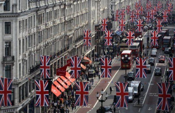 Лондон накануне свадьбы принца Уильяма