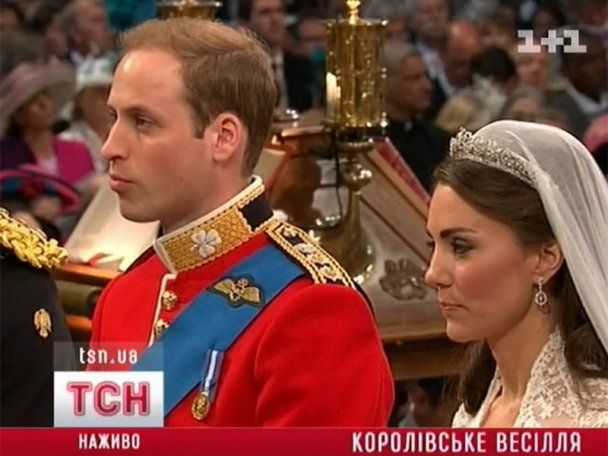 Принц Уїльям та Кетрін Міддлтон одружилися