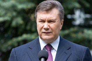 Янукович розповів Європі, що в Україні свобода слова забезпечена