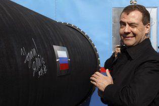 Російський газопровід в обхід України запрацює 8 листопада