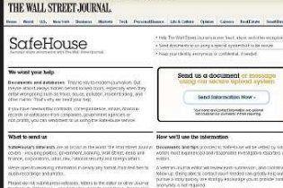 The Wall Street Journal запустила сайт-конкурент WikiLeaks