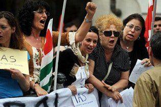 Италию охватили антиправительственные акции протеста