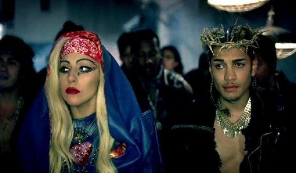 Lady GaGa презентовала скандальный клип Judas