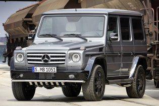 Mercedes-Benz снимает с производства джип Gelandewagen
